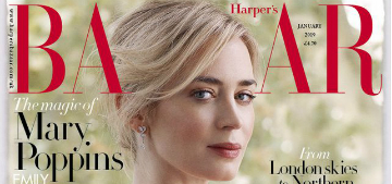 Emily Blunt on parenting: 'We are both massively hands-on, and we love it'