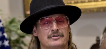 Kid Rock fired from marshalling a Xmas parade after calling Joy Behar a 'bitch'