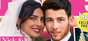Priyanka Chopra & Nick Jonas's spon-con wedding also got this week's People cover