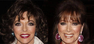 Joan Collins believes her late sister Jackie visits her as a fly