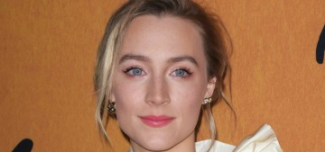 Saoirse Ronan wore Gucci to the 'Mary Queen of Scots' NYC premiere: cute or nah?
