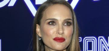 Natalie Portman wore a satin Dior suit to the LA 'Vox Lux' premiere: cute or meh?