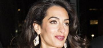 Amal Clooney wore J. Mendel & criticized Donald Trump's anti-press fascism