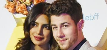 Priyanka Chopra & Nick Jonas made an appearance at a Bumble app launch