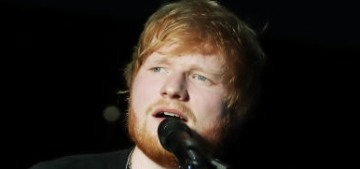"""""""Ed Sheeran commits to looking like a schlub next to couture-clad Beyonce"""" links"""