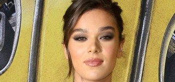 Hailee Steinfeld in Balmain at the LA 'Bumblebee' premiere: cute or boring?