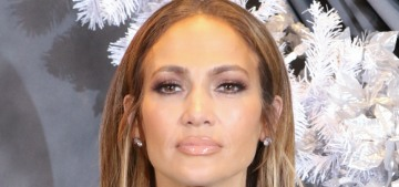 Jennifer Lopez in Valentino at the 'Second Act' LA premiere: too cutesy or just fine?