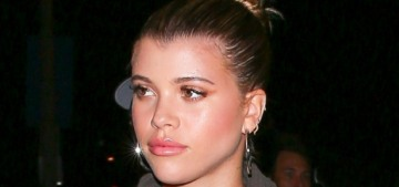 Is Sofia Richie, 20, irritated that Scott Disick spends so much time with his ex?