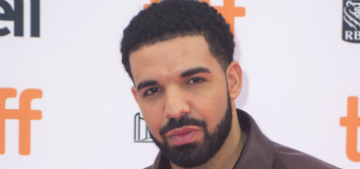 What do you see in Drake's selfie: his abs or the amazing bathroom?