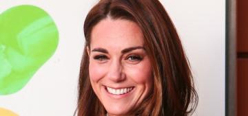 Duchess Kate wears LK Bennett to visit her new patronage, Evelina London