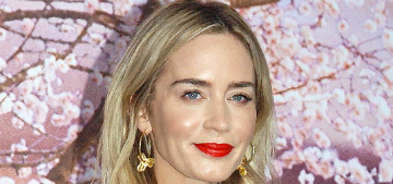 Emily Blunt: 'Becoming a mother gives you so much more strength'