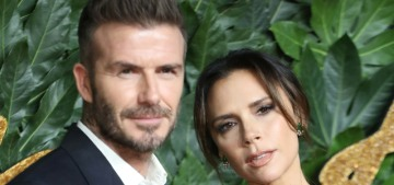 Victoria & David Beckham barely spoke to each other at the British Fashion Awards