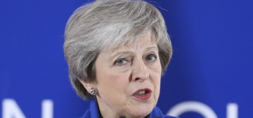 British prime minister Theresa May faces a vote of no confidence today