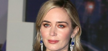 Emily Blunt in Schiaparelli at the UK 'Poppins' premiere: stunning or overworked?