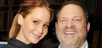 Jennifer Lawrence once again denies sleeping with 'predatory' Harvey Weinstein
