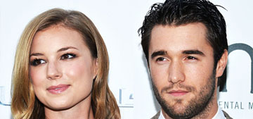 Emily Vancamp and Josh Bowman from Revenge got married after 7 years together