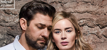 Emily Blunt on A Quiet Place: 'Our marriage was not going to overwhelm this movie'