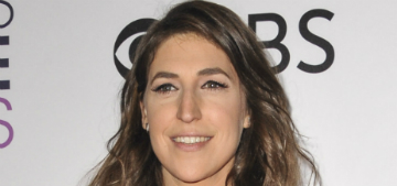 Mayim Bialik's boyfriend of five years broke up with her before the holidays
