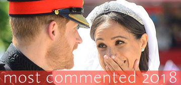 Celebitchy's most commented 2018: Meghan & Harry's wedding, a royal feud