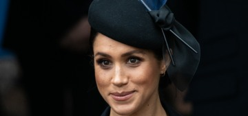 The Sussexes & Cambridges buried the royal hatchet for Christmas at Sandringham