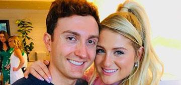 Meghan Trainor & Daryl Sabara had a backyard wedding on her birthday