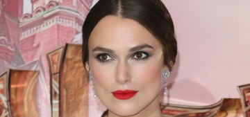Keira Knightley: 'Internalised misogyny? I'm not criticizing that'