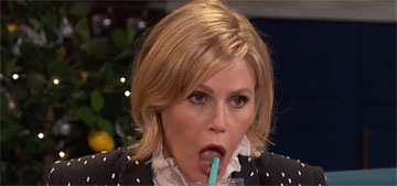 Julie Bowen got Botox in her upper lip and couldn't drink or chew afterwards