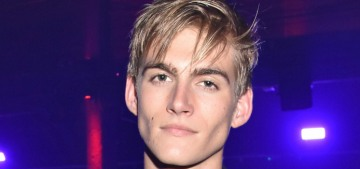 Presley Gerber, 19, was charged with a DUI in his Tesla at 4 am on NYE