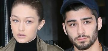 Gigi Hadid & Zayn Malik broke up again, probably around 'early November'
