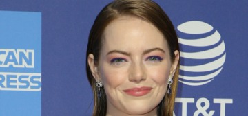 Emma Stone in Louis Vuitton at the Palm Springs festival gala: cute or nah?