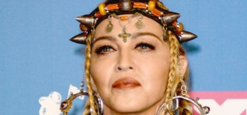 Madonna wants us to know that she's 'desperately seeking no one's approval'