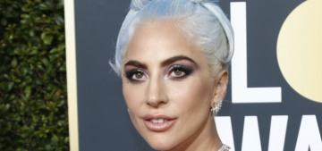 Lady Gaga in Valentino & Tiffany diamonds at the Globes: boring or stunning?