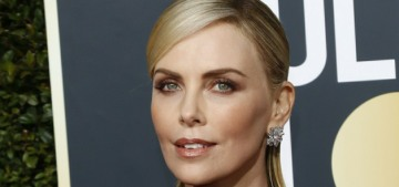 Who got the better Dior gown at the Golden Globes, Charlize Theron or Kiki Layne?