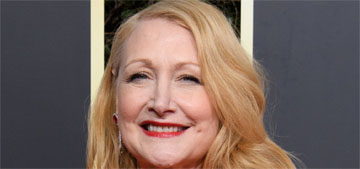 Patricia Clarkson in Georges Chakra at the Globes: striking and regal?