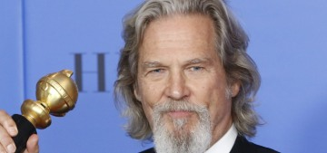 Was Jeff Bridges high AF at the Golden Globes, or was he just being himself?