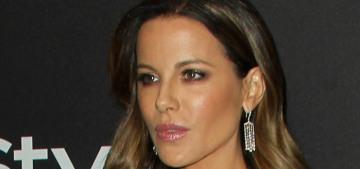 Kate Beckinsale & Pete Davidson got flirty at a Globes after-party, they 'left together'