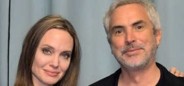 Angelina Jolie hosted a reception for Alfonso Cuaron & 'Roma' in West Hollywood