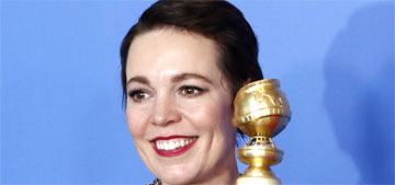 Olivia Colman thanks Melissa McCarthy: 'You stopped me from being too drunk'