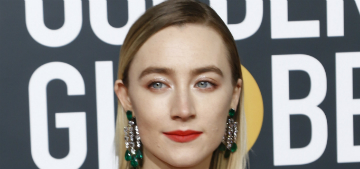 Saoirse Ronan says her dog is a genius because she recognizes ads