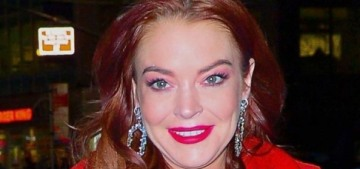 Lindsay Lohan's goals: 'To work with Martin Scorsese. Work with Spielberg'