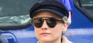Diane Kruger pleads with fans & paparazzi to stop posting photos of her baby
