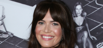 Mandy Moore's dog ate a tennis ball and almost died