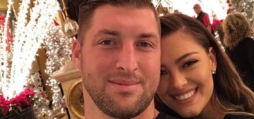 Tim Tebow, 31, is engaged to beauty queen Demi-Leigh Nel-Peters, 23