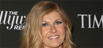 Connie Britton wants a meet cute, dreams 'of meeting somebody on a plane'