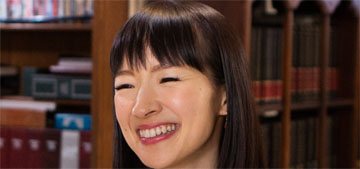 Marie Kondo encourages clients to get rid of books and people do not like it