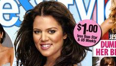 Khloe Kardashian drops 20 lbs in 28 days; gets on the cover of Life & Style