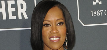 Regina King in Michael Kors at the Critics Choice Awards: sparkling and incredible?