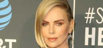 Charlize Theron in Givenchy at the Critics' Choice Awards: overdone or stunning?