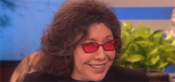 Lily Tomlin turned down the cover of Time in 1975 when they asked her to come out