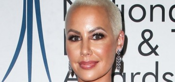 Amber Rose tried to sell crack but she was told she was 'too pretty' for the corner